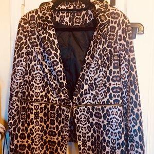 City Chic Poplin Convertible Blazer/Jacket XS/14w